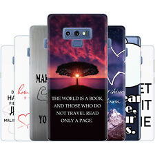 Dessana Sayings Graphic Silicone Protection Cover Case Pouch for Samsung Galaxy