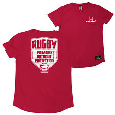 FB Rugby Ladies Tee - Pleasure Without - Round Neck Dry Fit Performance T-Shirt
