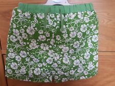 Baby Boy Green Flowery Swim Shorts With Swim Nappy 12-18 months Only New
