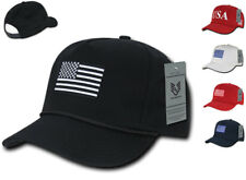 Rapid Dominance Drapeau États-unis Patriotique Coton Brodé 5 Panel Papa Golf