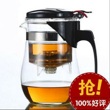 Teapot Glass 750ml Stainless Steel Infuser Filter Loose Tea Herbal Womens Gift