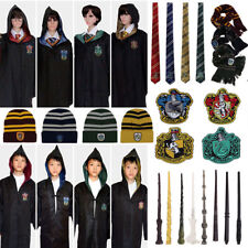 Capa de Harry Potter Cloak Robe Tie Gryffindor Slytherin Hufflepuff Ravenclaw