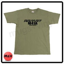 Aliens M41a Inspired T Shirt Movie Game over nerd t-shirt pulse rifle