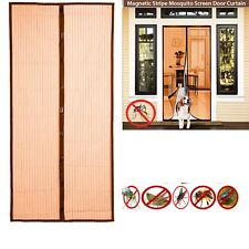 Magic Door Mesh Magnetic Curtain Net Screen Bug Mosquito Fly Insects BUGS Door