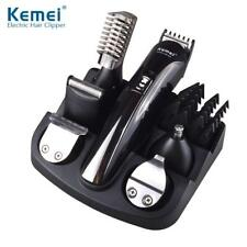 Kemei 6 in 1 Rechargeable Hair Trimmer Titanium Clipper Electric Shaver...