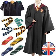 UK Hermione Granger Gryffindor Robe Harri Potter Cape Cloak WithTie Cosplay Gift