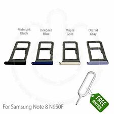 Samsung Galaxy Note 8 N950 N950F Sim Tray Holder & SD Card Holder Slot + Tool