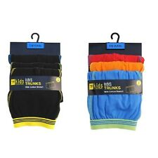3 Pack Boys TF T-Franks Boxer Shorts Trunks Gift Underwear Cotton Boxers UK
