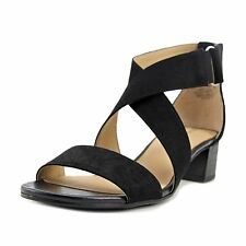 Naturalizer Womens Adele Fabric Open Toe Casual Strappy Sandals