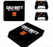 Call of Duty Black OPS IIII PS4Pro Skin Sticker For Sony PlayStation Decal Vinyl