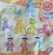 McDonalds Happy Meal Toy 2003 Jim Henson HOOBS + MOTORETTES Characters - VARIOUS