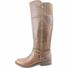 G by Guess Womens Harson Closed Toe Knee High Chelsea Boots