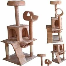 Cat Tree Scratching Post Activity Centre Bed Toys Scratcher Deluxe Cozy Pet Home