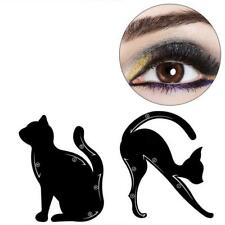 Travelmall 4PCs Stencils For Perfect Cat Eyeliner And Smoky Eyes Eyebrows...