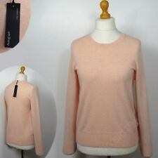 M&S AUTOGRAPH Pure CASHMERE Long Sleeve JUMPER ~  Size 12 or 18 ~ BLUSH PINK