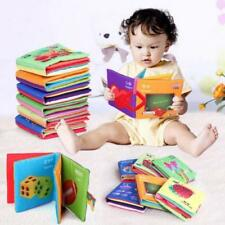 Intelligence development Cloth Bed Cognize Book Educational Toy for Kid Baby New