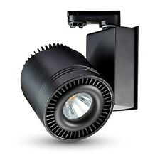 Proiettore a binario Indoor/Outdoor  Led COB 45W Nero V-TAC  VT-4545