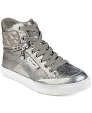 G by Guess Womens Ombae Hight Top Lace Up Fashion Sneakers