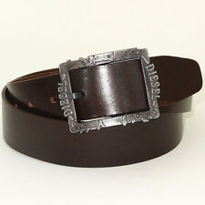 DIESEL Belt 'BIFRAME Cintura' NEW Mens Belt 100% Cow Leather! ITALY!!