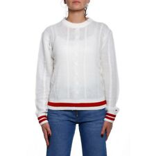 Tommy Hilfiger Jeans TJW Easy Cable Sweatshirt Damen DW0DW05135 127 Cloud Dancer