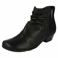 Remonte Ladies Heeled Ankle Boots - D7382