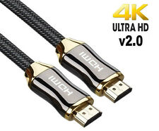 PREMIUM ULTRAHD HDMI CABLE HIGH SPEED 4K 2160p 3D LEAD 1m/2m/3m/4m/5m/7m
