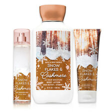 Snowflakes & Cashmere Winter Body Lotion, Body Cream & Mist By Bath & Body Works