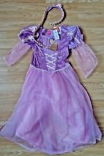 DISNEY Princess Rapunzel -Tangled~Girls Fancy Dress Up Costume~Age 7-8 Years~NEW