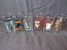 Set Of 2 Vintage Warner Brothers Looney Tunes Glasses Early 90's - Bugs Bunny+++