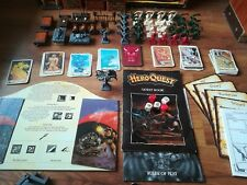HeroQuest MB strategy boardgame spare parts furniture doors cards tiles dice