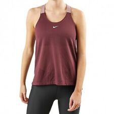 Nike Elastika Women's Vest Top Dri Fit Tank Muscle Back Gym Training Loose Fit