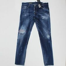 DSquared2 Slim Jeans Distressed Stitch