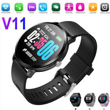 Wristband Watch Smart Bracelet Heart Rate Monitor Blood Pressure Fitness Tracker