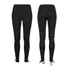 Urban Classics Leggings Mujer Laced Up Back Black Deporte Fitness Xs S M L XL
