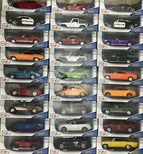 Maisto1:18 Scale Car Special Edition Variety Models Vehicles DieCast