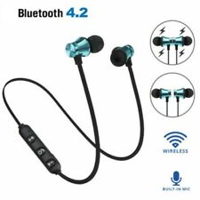 Wireless Magnetic In-Ear Earbuds Headphone Bluetooth 4.2 Stereo Earphone Headset