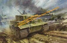 1/35 Pz.Kpfw.VI Tiger I Late Production WWII German Heavy Tank Model Kit 6406