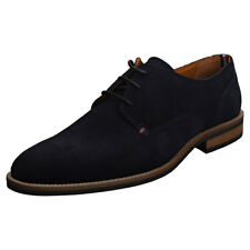 Tommy Hilfiger Essential Mens Midnight Navy Suede Shoes