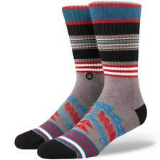 Stance Sparta Socks in Grey | NEW Stance Mens Crew Length Socks