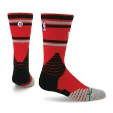 Stance NBA On Court Core Crew Raptors Basketball Socks in Red | NEW Stance Mens