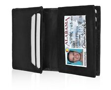 MENS GENUINE LEATHER BIFOLD WALLET CREDIT ID CARD HOLDER COIN POCKET PURSE HOT