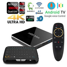Android 8.1 H96 MAX-X2 VOICE CONTROL S905-X2 Wifi 64GB Bluetooth 1080p 4K TV Box