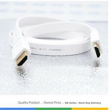 PREMIUM HDMI Cable v1.4 1M/1.5M/2M-10M High Speed 2K UltraHD 1080p 3D Flat Lead