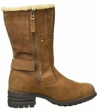 Caterpillar Randi Toffee Leather Mid Calf Boots WAS 114.99 NOW 59.99