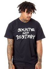 T-Shirt Thrasher Skate And Destroy Nero