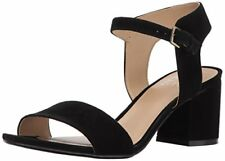 Naturalizer Womens Caitlyn Leather Open Toe Casual Ankle Strap Sandals