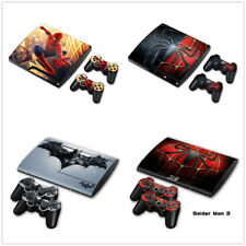 PS3 Slim Playstation 3 Console &2 Controllers Skin Decal Sticker -CHELSEA FC