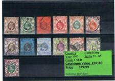 Stamps - British Empire and Commonwealth Sets - countries H - N