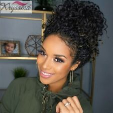 Curly Hair Lace Front Wigs 100% Brazilian Glueless Remy Human Hair 150% Density