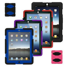 Tough Military Heavy Duty Shockproof Builder Case Cover For APPLE IPAD MINI 4